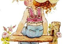Holly Hobbie / Sarah Kay