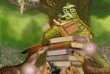Children's books: Bertie, the Bookworm and the Bully Boys / COMING SOON!  the third in the series, Bertie and his reading circle of faeries, woodland creatures, elves are harrassed by the bully boys: Slam, Whiff, Hamhocks & Walter. www.writeratplay.com
