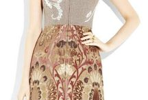 Dresses - brocade