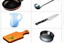 MŠ predmety a materiály