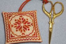 Cross stitch finishing ideas / by Sophie