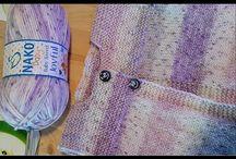 hačkované a pletené vzory