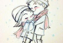 sevgili çizimi