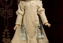 Antique doll clothes