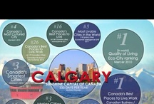 Cool Calgary Statistics / Calgary is the 5th best city to live on the planet (Economist 2010 & 2011) Here are some of myriad of reasons why. Stats, Facts and More! / by Cody Battershill