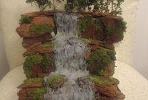 Waterfall bonsai