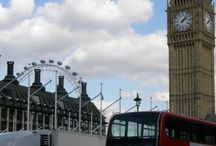 Traveling in London, UK / by Kid Friendly Family Vacations