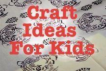Craft ideas for kids / easy kids craft idea for kids. Handmade simple craft for kids video for ideas for your easter kids activities. Block printing your own t-shirt or tea towel is a great art project for kids! Have a look at the wide choice of wooden printing blocks http://colouricious.com/block-printing-shop/block-printing-wooden-printing-blocks-stamps/