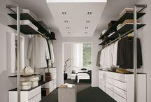 Traumhaus | Schlafzimmer, begehbarer Kleiderschrank