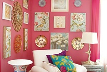 tickled pink / brighter pinks are youthful, fun, and exciting, while vibrant pinks have the same high energy as red; they are sensual and passionate without being too aggressive - toning down the passion of red with the purity of white results in the softer pinks that are calming, associated with romance and often used in bedrooms