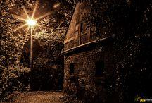 Eberswalde bei Nacht / Fotos von meiner Heimatstadt Eberswalde bei Nacht.