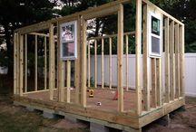 Dřevo stavba