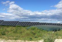 location de terrain panneau photovoltaique
