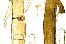 мода начала ХХ века ( до 1920 )