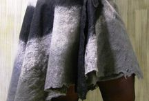 Nuno felt / Skirt & others