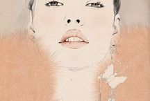 Illustration Fashion / Beautiful drawings of beautiful girls (and boys)