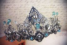look - fantasy & others - crowns & jewellery