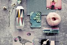 The Perfect Mood Board / Mood boards inspirations and material mixes