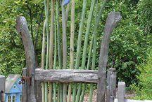 Puertas jardín