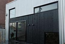 Warehouse facades