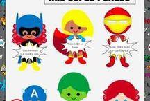 Super Hero Decor