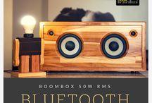 caixas de som