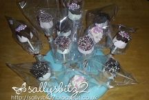 Marshmellow/Cake pops I made