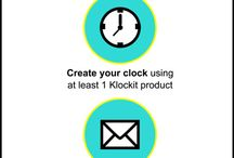 Clock Contest - Spring 2015 / Check out all of the entries from Klockit's Spring 2015 Clock Contest. Great inspiration for your next #DIY project! / by Klockit