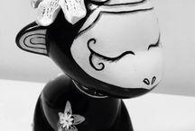 "Munny art toy "" Children's"" / Munnyworld Arte Pintado a mano Infantil Juguete Munny"