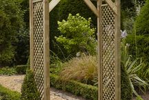 Wooden Garden Arches / wooden garden arches - from anchor fast products