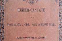 St-Nicolaasfeest / 'St-Nicolaasfeest' Kinder-cantate uit 1890. geschreven door componist Bernard Zweers.