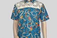 Baju Batik Seragam Pria H-1235