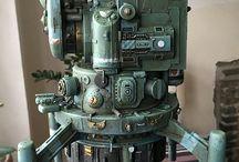 Machine model 機械の模型