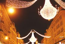 Winter in Vienna / Winter holidays in one of Europe's most beautiful cities. Spend the most wonderful time of the year in Vienna and enjoy the wide range of activities at Christmas in Vienna. Advent markets, fine restaurants, visit a musical, theatre or concert or enjoy a romantic walk through the wintery snowy city.  / by Das Capri Ihr Wiener Hotel