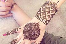 Henna / @FarzanaaPatel