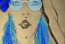 ilustracje mody,dodatki,moda inspiracje / Zdjęcia mojego autorstwa ,również prace
