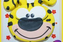 cake design : gâteaux 2D