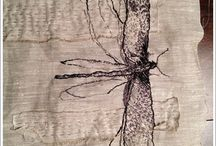 Cloth Linen and Ink