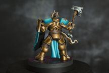 Age of Sigmar : Stormcast Eternals / Age of Sigmar Stormcast Eternal miniatures. Looking for painting inspiration.