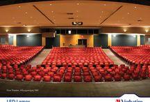 Teatro #KIVA, Nueva Mexico / Otro caso de éxito con lamparas LED