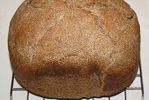 kenyérsütőben, kenyér
