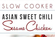 sesame sweet chicken chilu