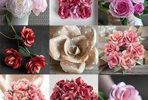 페이퍼 꽃