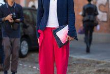 °°° ALEGRIA NO FORMAL °°° / Adicione cor às roupas formais.