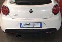 Alfa Romeo Mito /  scarico #topqualityexhaustsystem by RPgarage