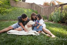"Pets Rock! / Most of my clients have pets. They were the first ""babies"". I love to capture them interacting with their family."