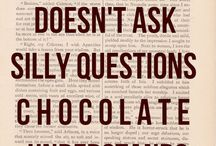 Quote on chocolate