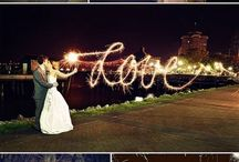 Just married sparklers
