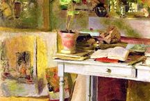 7) Misc. - Home interior paintings / Inspiration