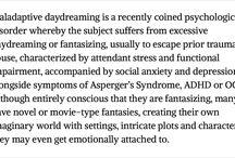 Maladaptive Daydreaming